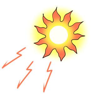 紫外線のダメージ