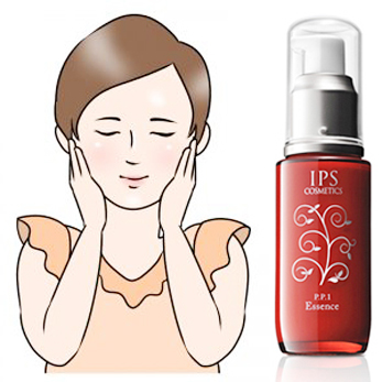 ips美容液の肌への働き